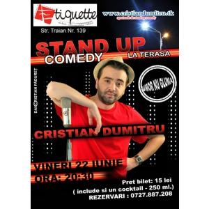 Stand Up Comedy Vineri 22 Iunie 2012 Bucuresti Terasa Restaurantului Etiquette