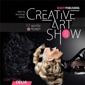CREATIVE ART SHOW - MAKE-UP, HAIR, NAIL ART -