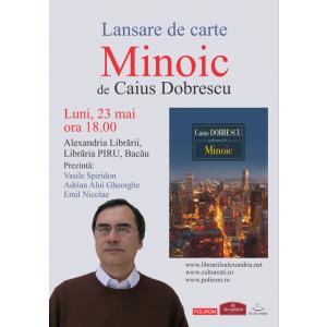 LANSARE DE CARTE: Minoic de Caius Dobrescu