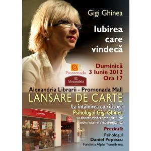 Gigi Ghinea la Alexandria Librării din Promenada Mall Tg. Mureș