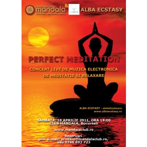 Concert live - muzica electronica de meditatie si relaxare