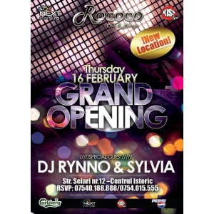 NEW Rococo Club GRAND OPENING PARTY!
