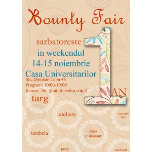 Evenimentul de handmade Bounty Fair implineste 1 an!