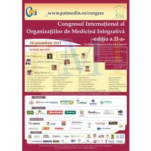 Congresul Internaţional al Organizaţiilor de Medicină Integrativă , Editia II