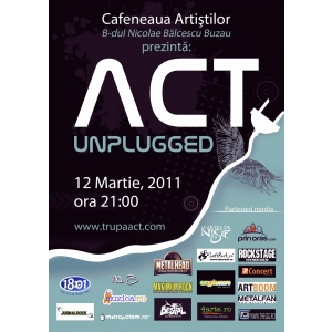 Concert ACT Unplugged la Buzau