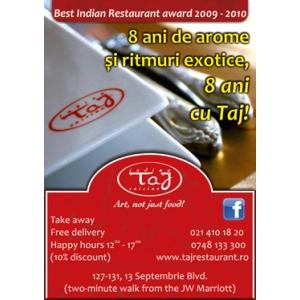 A treia editie Budha Bar Night, vineri 20 Mai, la Taj Restaurant!