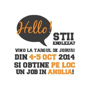 Targ de joburi Muncitori depozite Anglia, 4-5 octombrie Brasov
