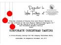 wine tasting. Corporate Christmas Tasting – un nou concept pentru petrecerea de Craciun