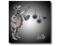 accesorii si bijuterii diafane. bijuterii din argint cu lapis lazuli
