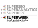 conferinta seo   ppc. Superweek 2012 Romania - Search Marketing Seminar