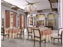 Fete de masa damasc Restaurant | Fete de masa rotunde - Niky Decor