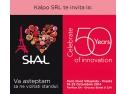 Firma buzoiană Kalpo participă la Târgul internaţional de produse alimentare Sial Paris 2014