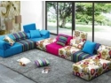 Canapele din piese modulare, un spectacol de culori in casa cu Mob&Deco