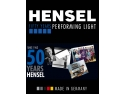 Hensel, 50 de ani de excelenta in domeniul foto profesional