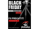 22 noiembrie 2011. Black Friday la Photosetup - Magazin foto specializat