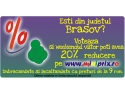 caravana. Voteaza BRASOV in Caravana Reducerilor miniPRIX si ai 20% reducere pe www.miniprix.ro