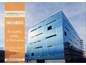 incubator. INCUBOX, Fatada de 2800 mp din policarbonat, Makroplast, Aluterm Group