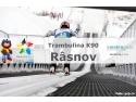 aluterm. Imagine din cadrul FOTE cu Trambulina Rasnov, K90, Panouri din policarbonat Makroplast