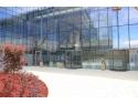 The Office, Cluj-Napoca, Usi rotative, automate, din sticla