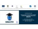 Conferinţă de presă lansare proiect SIMACTIV: Acces pe piaţa muncii pentru studenţi - tranziţie de la şcoală la viaţa activă
