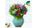 Colectia Noua 2012 - 2013   Trandafiri cu Floari Mari   Trandafiri cu Flori Grupate. Specialistii Floria pregatesc aranjamente florale spectaculoase
