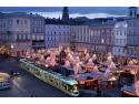 """""""Cat de departe poti ajunge cu 29 de euro?"""", o campanie marca Eurolines. Cumparati bilete catre Linz, Austria mix de marketing"""