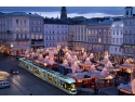 """Cat de departe poti ajunge cu 29 de euro?"", o campanie marca Eurolines. Cumparati bilete catre Linz, Austria raport aon"