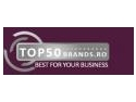 bring your brand to romania. Top50Brands.ro - Best for your Business