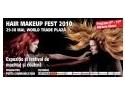 coafura. Demonstratii gratuite de coafura si machiaj la Hair&Makeup Fest pe 29-30 mai, World Trade Center