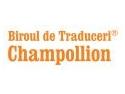 Champollion - cel mai rapid serviciu de cotare in domeniul traducerilor