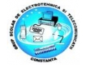 proiecte telecom. GR. SC. IND. DE ELECTROTEHNICA SI TELECOMUNICATII