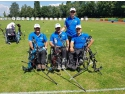 sportivi. Filip Ghiorghi împreună cu colegii săi