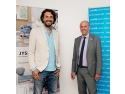 UNICEF. Alex Bratu (JYSK Romania) si Peter Bult (UNICEF)