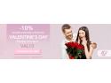 Buchet Express oferă 10% discount la precomenzi de Valentine's Day accesibile