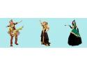 Personajele favorite ale copiilor, in cadrul petrecerilor organizate cu Paradisul Personajelor revelion 2013