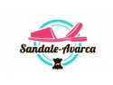 sandale platforma. sandale-avarca.ro