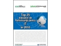 Indicatori de Performanţă pentru Marketing  Performanţă in Marketing. Top 25 Indicatori de Performanţă pentru IT în 2010