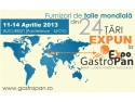 gastropan 2013. Furnizori de talie mondiala din 24 tari expun la GastroPan 2013!