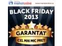 De Black Friday MarketOnline.ro iti plateste de 2 ori diferenta daca gasesti in alta parte mai ieftin!