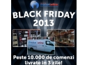 #teamdeals #blackfriday. MarketOnline.ro livreaza in 3 zile peste 10.000 de comenzi din BlackFriday!