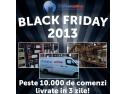 blackfriday. MarketOnline.ro livreaza in 3 zile peste 10.000 de comenzi din BlackFriday!