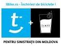 Venituri. tBike donează 90% din venituri sinistraţilor din Moldova