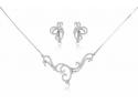 cursuri bijuterii. set din argint cu zirconii