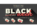 black. La Bigstep Black Friday devine Black Week!