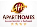 homes. Apart Homes is now offering both personal and corporate accommodation in Bucharest