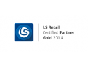 VMWare Enterprise Partner. LLP Dynamics Romania a fost onorata cu titlul LS Retail Gold Partner 2014