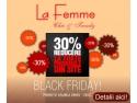 Black Friday La Femme: preturi cu 30% mai mici