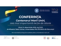 Conferința Centenarul Marii Uniri, cea mai importantă lecție de istorie Optimum Communication