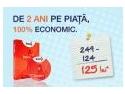 Brosura ECO. De doi ani pe piata – 100% Economic
