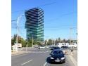 timbre cu turnul ceasului. Turn Razoare - vedere Blvd. Timisoara